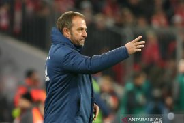 Hansi Flick tetap latih Bayern Munchen hingga akhir musim