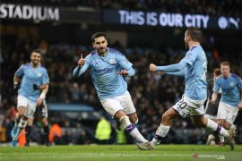Taklukkan Leicester 3-1, Man City sukses pangkas jarak jadi satu poin