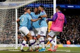 City bekuk Leicester 3-1, selisih menipis satu poin