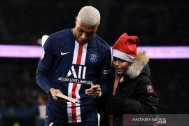 Klasemen Liga Prancis, PSG tuju liburan unggul tujuh poin