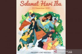 Jokowi: Wajah Indonesia dibentuk kaum ibu