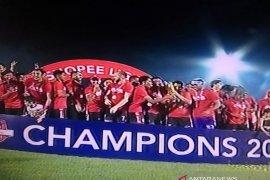 Bali United juara Liga I