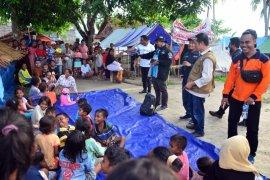 Ribuan pengungsi di Pulau Haruku ingin segera kembali ke rumah