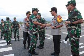 Kapolri dan Panglima TNI kunjungi Manado