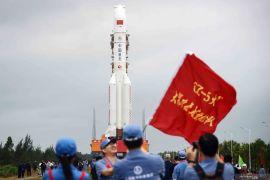 Pesawat ruang angkasa China sukses mendarat di orbit
