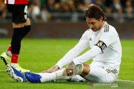 Tiga peluang membentur gawang, Real Madrid dipaksa hasil imbang