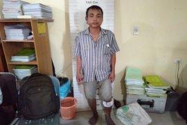 Melawan saat hendak ditangkap, pencuri tambak udang dihadiahi timas panas