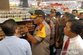 Jelang Natal, Kapolda-Pangdam sidak ke pusat perbelanjaan di Medan