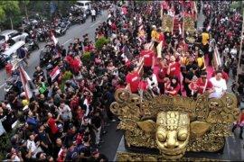 Bali United pawai juara Liga 1 2019