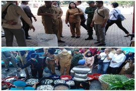 Wali Kota tinjau pasar murah dan harga sembako di Pasar Gambir