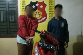Polisi ungkap kasus pencurian motor saat kebakaran di Perdagangan Simalungun