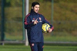 Arteta ungkap daftar staf pelatihnya di Arsenal