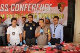 Sembilan senjata api Ilegal diamankan Polresta Tangerang