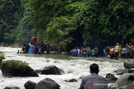 Korban tewas kecelakaan maut bus Sriwijaya tercatat 27 penumpang, 25 jenazah teridentifikasi