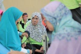 60 orang warga lanjut usia antusias ikuti senam Lansia