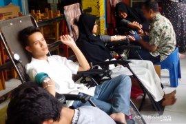 Stok darah di Cianjur cukup saat libur Natal dan Tahun Baru