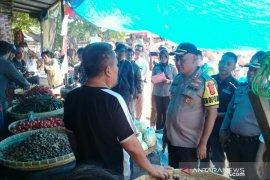 Tim Satgas Pangan Cianjur sidak ke pasar pastikan stok aman