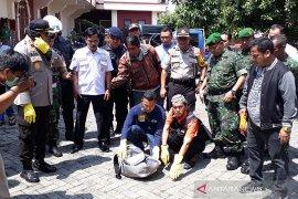Ada tas mencurigakan di gereja Bethel Indonesia