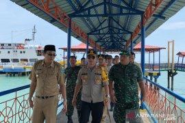 Polisi perketat pengamanan jalur penyeberangan di Pelabuhan Tanjungkalian