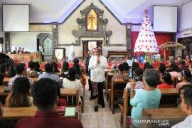 Wagub harapkan umat Kristiani di Bali rasakan kedamaian