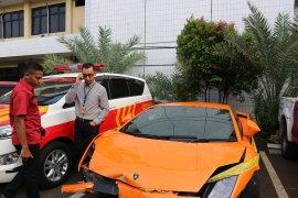 Polisi ungkap pengemudi Lamborghini todong senjata api hindari pajak