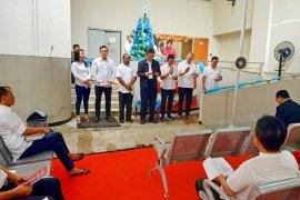 Sukacita suasana Natal di rumah tahanan KPK
