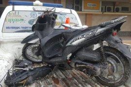 Saat tugas Operasi Lilin Toba 2019, Personel Satlantas Polres Deli Serdang meninggal ditabrak truk