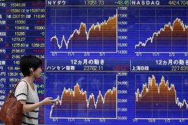 Nikkei anjlok di bawah 20.000