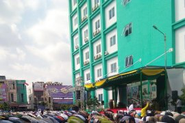 Ribuan warga Kota Medan laksanakan shalat  gerhana matahari