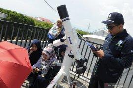 BMKG Denpasar lakukan pengamatan gerhana matahari cincin