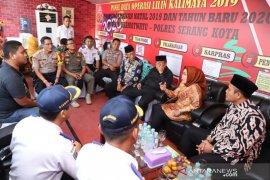 Amankan Natal, Bupati Serang apresiasi sinergi TNI-Polri