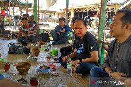 Dirut PDAM Intan Banjar silaturrahmi dengan jurnalis