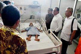 Gubernur Sumut biayai perobatan warga Tapteng korban kecelakaan