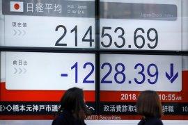 Saham Tokyo dibuka lebih rendah mengikuti penurunan Wall Street