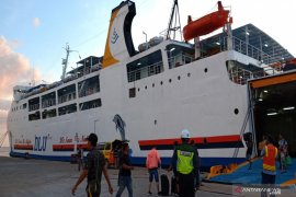 Pelabuhan Trisakti Banjarmasin  dilintasi 5.482 penumpang