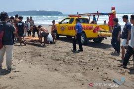 Balawista sebut wisatawan tewas karena berenang di zona bahaya Pantai Pangandaran