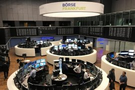 Saham Jerman berguguran dengan indeks DAX 35 berakhir menukik 573,81 poin