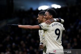 Martial dan Rashford cetak gol, MU kalahkan Burnley
