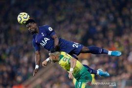 Tottenham kesusahan imbangi tim juru kunci Norwich