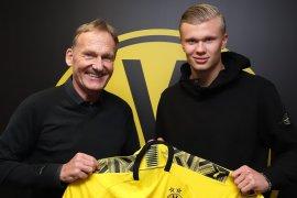 Haaland pilih Dortmund ketimbang MU atau Juve