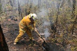 Ribuan penduduk dievakuasi dari kawasan wisata Australia akibat kebakaran hutan
