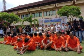 2019, Polresta Denpasar tangani 621 kasus pidana