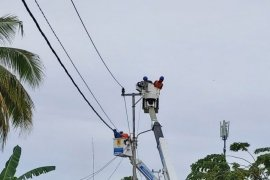 South and Central Kalimantan power outage due to lightning