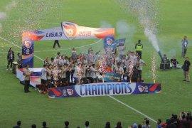 Tundukkan PSKC Cimahi, Persijap Jepara juara Liga 3