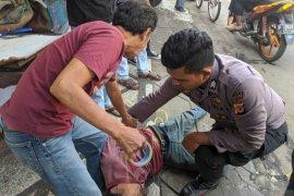 Aksi heroik Brigadir Tawakal lumpuhkan penyerangan pria terhadap warga