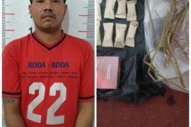 Polisi Kuala Langkat tangkap supir pemilik ganja