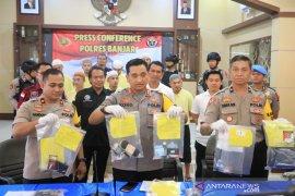 Kapolres Banjar sampaikan pengungkapan kasus 2019