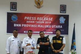 BNNP Malut tangkap kurir sabu seberat 144,30 gram