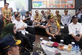 Manhub melakukan inspeksi Jalur Puncak Bogor