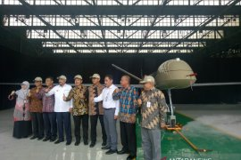 """Pesawat udara nirawak diberi nama """"Elang Hitam"""""""
